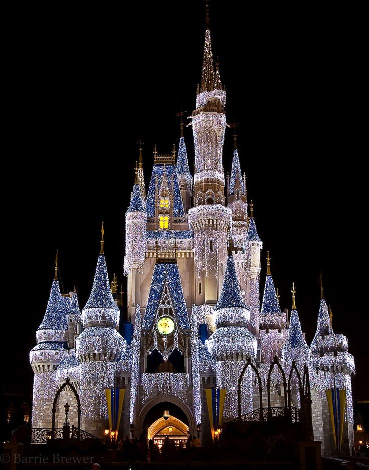 Dream Lights on Cinderella Castle!