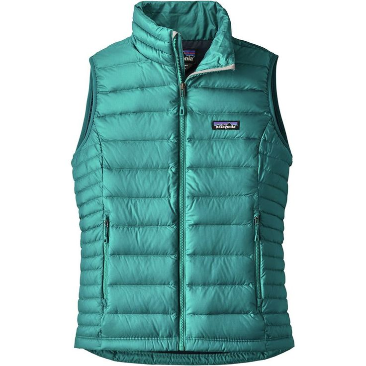 Patagonia - Down Sweater Vest - Women's - Elwha Blue - SMALL