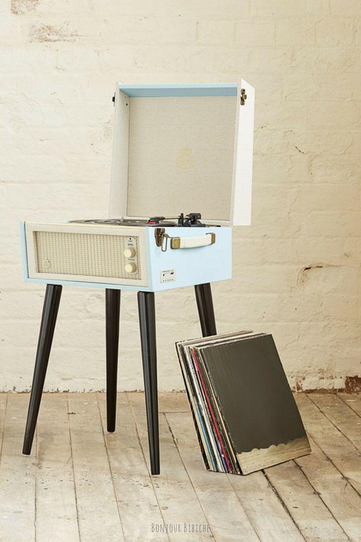 Les 25 meilleures id es de la cat gorie platine vinyle - Manieres creer decor inspire annees ...