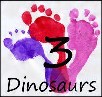 Ten Little Beasties Paper Craft: Guest Post from 3 Dinosaurs