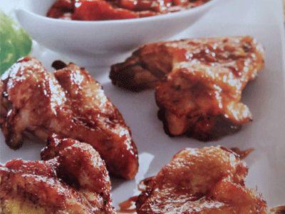 Las alitas de pollo marinadas en jengibre es una receta saludable que le encantará a todos los miembros de la familia. Ideales para acompañar una ensalada.