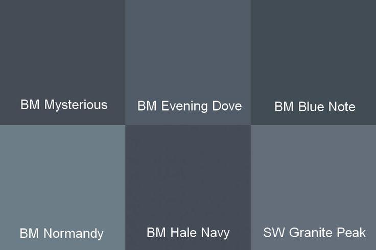 Hale Navy Benjamin Moore Cabinets Moore Mysterious