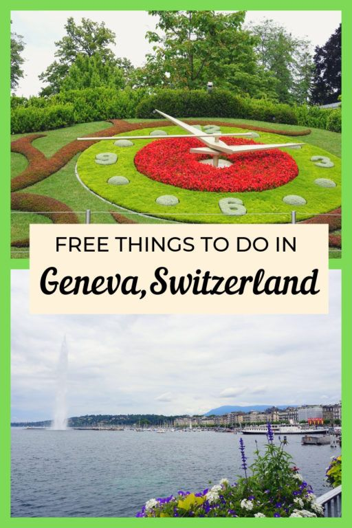 5 Free Things to do in Geneva, Switzerland | The World Is A Book