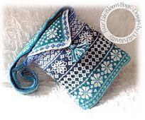 Ravelry: FAIR ISLE BLOEM BAG pattern by Dutch Knitty