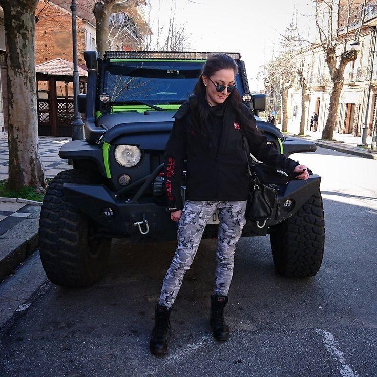 Viktoria B. - montain style!