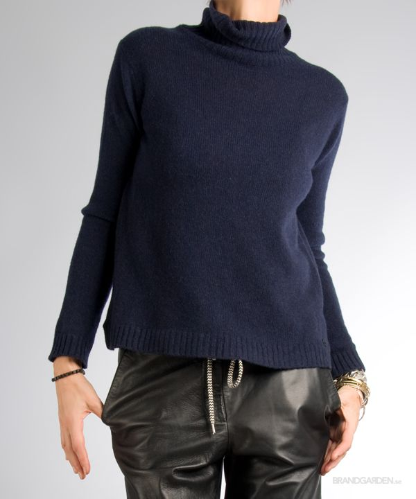 Cah RollNeck Sweater Blu Ottod'Ame