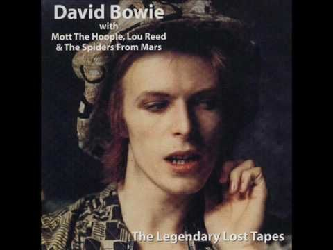 David Bowie with Mott the Hoople, Trident studio sessions in May 1972: All The Young Dudes