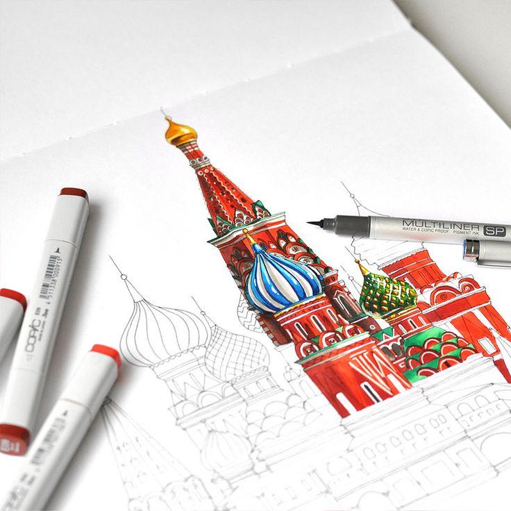 Moscow | by Anna Rastorgueva
