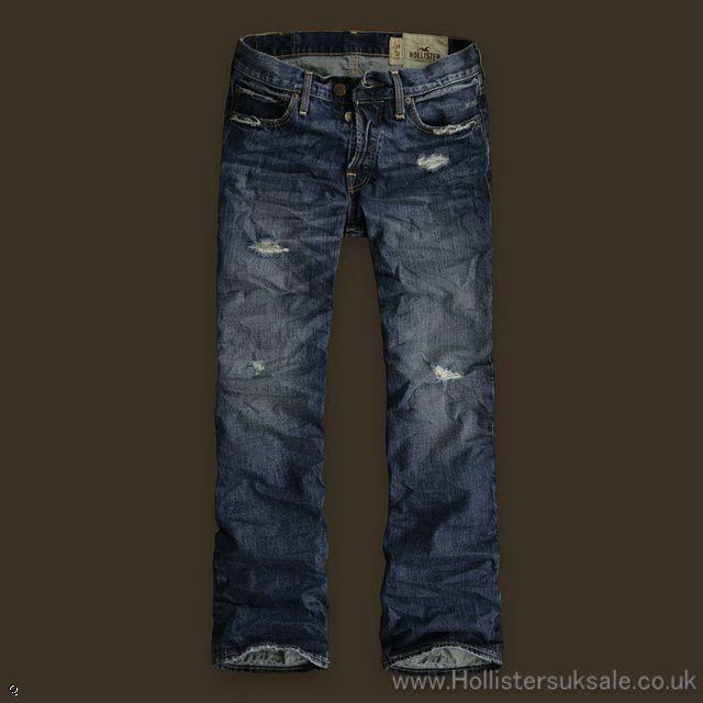 Hollister Mens Destroyed Jeans | Men Style | Pinterest ...