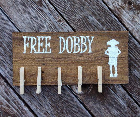 Kostenlose Dobby Single Socken frei Haus-Elfen von SnappleJacks