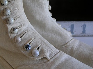 beautiful buttoned boots