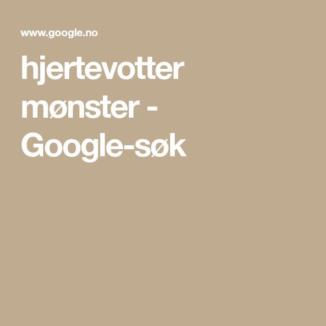 hjertevotter mønster - Google-søk