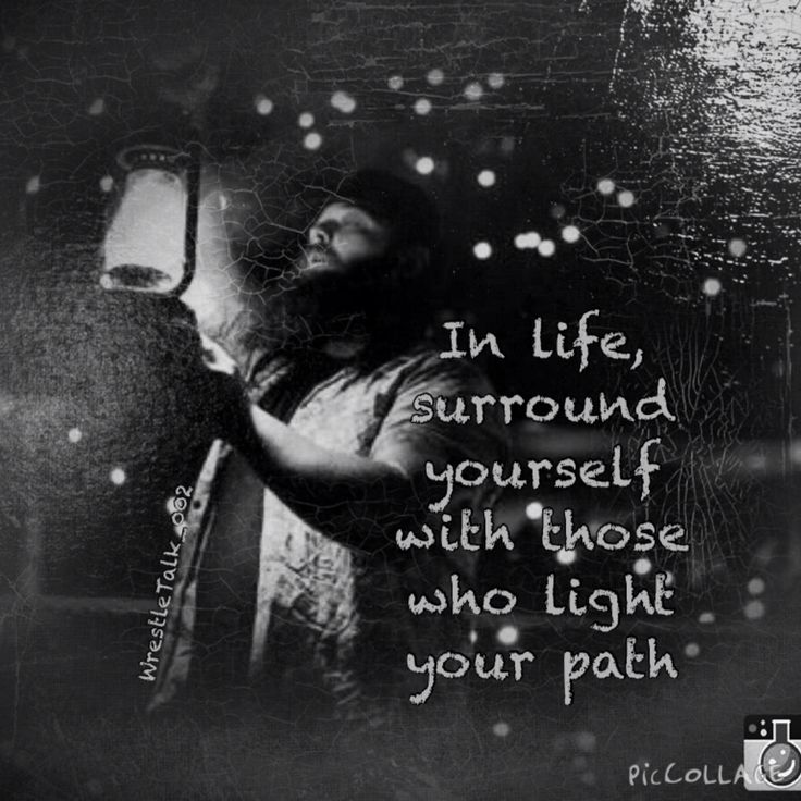 Light the path, quote and WWE Bray Wyatt