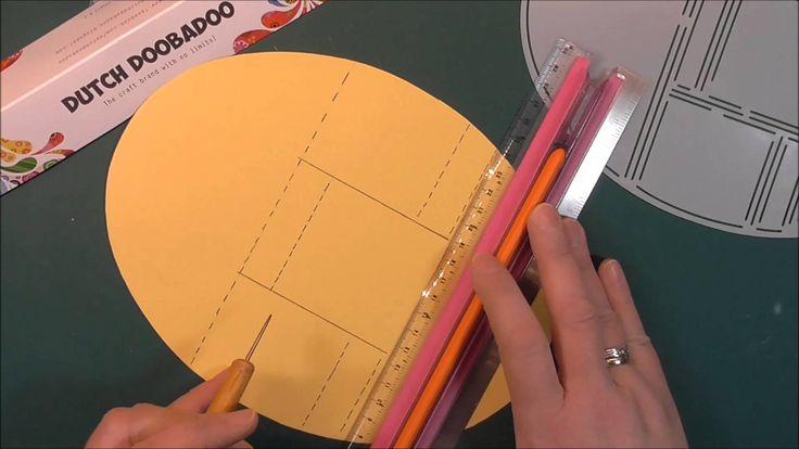 Dutch Doobadoo Pop Up Card Oval