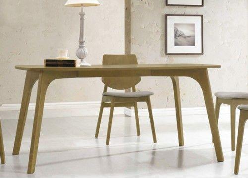 Τραπέζι σε φυσικό χρώμα 160x90