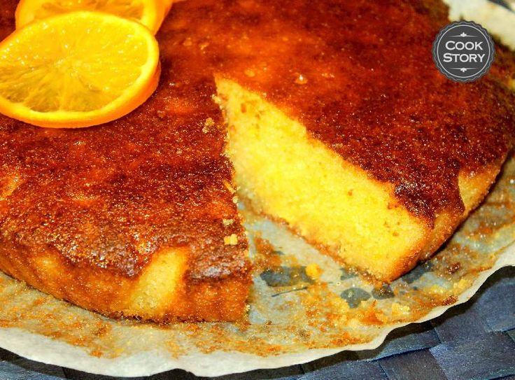 Απίθανη πορτοκαλόπιτα με πουρέ πορτοκαλιού | Cookstory.gr