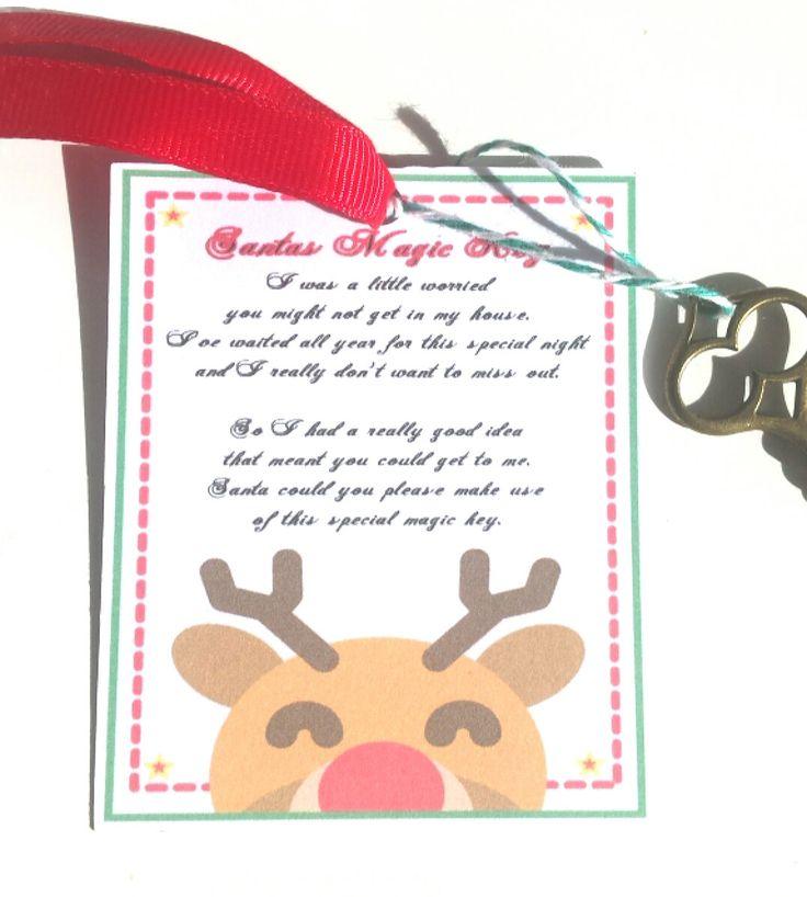 Santa's magic key, Christmas eve box item, Christmas Eve, Christmas, Santa by…