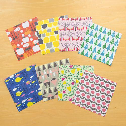 元マリメッコの「SOU・SOU」と「セキユリヲ」がデザインする、北欧柄ノートブック&折り紙の写真12