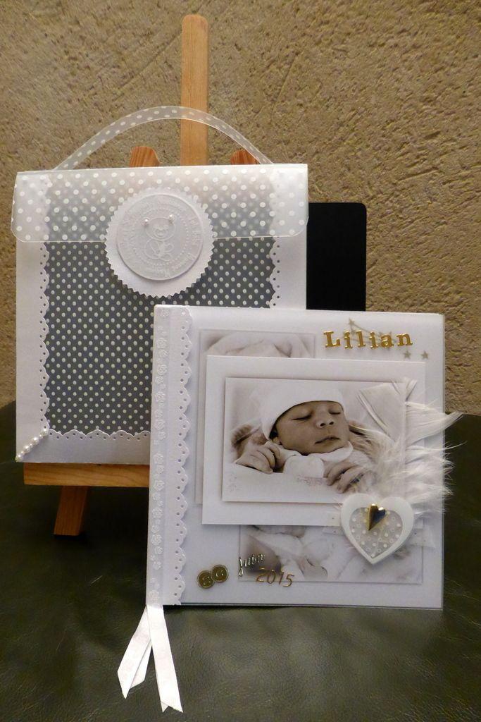 Coucou, Je viens de terminer un mini-album. La naissance de Lilian, tout en transparence !... Voici les images