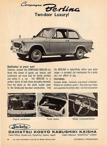 1964 Daihatsu Compagno Berlina