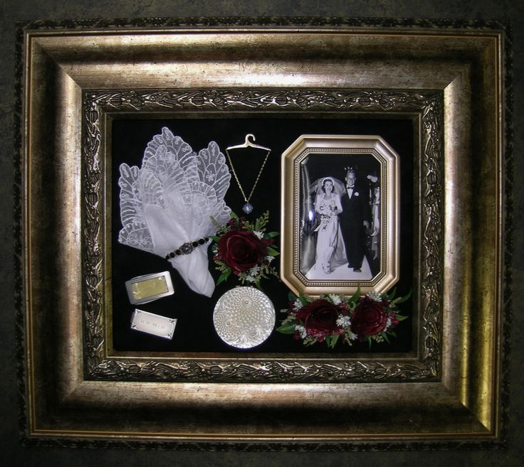 Preserved Memorial flowers in shadow box www.facebook.com/FloralKeepsakesBoutique     www.FloralKeepsakes.com