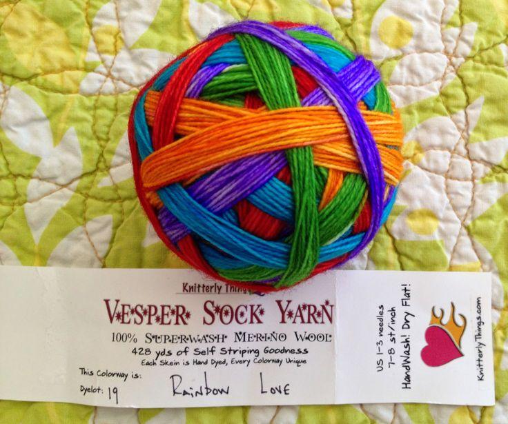 winding yarn Everlasting Gobstopper style   Susan B. Anderson