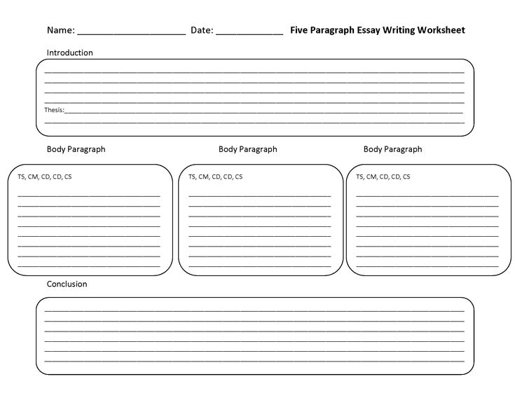 5 paragraph essay outline worksheets Use an interactive quiz and printable worksheet to answer questions about the structure of the five-paragraph essay try these questions before.