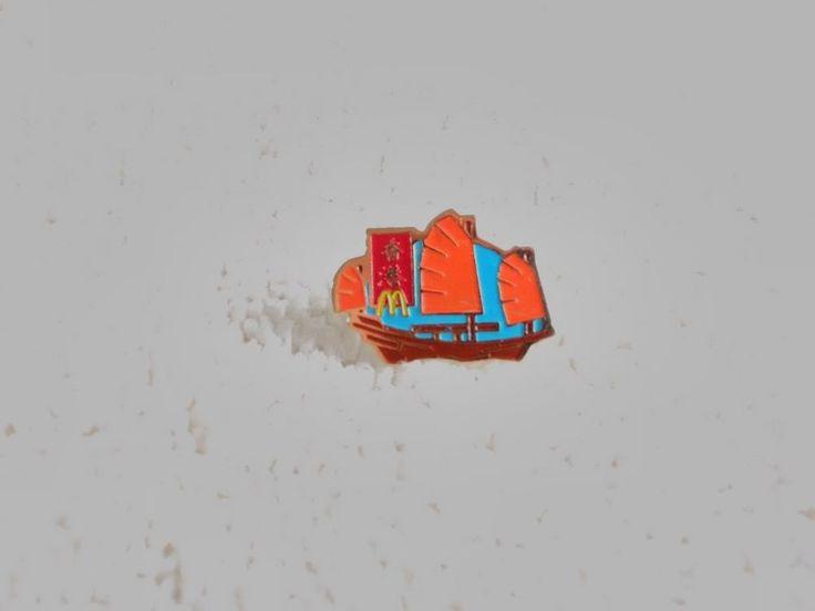 Vintage China/Chinese McDonald's pin badge