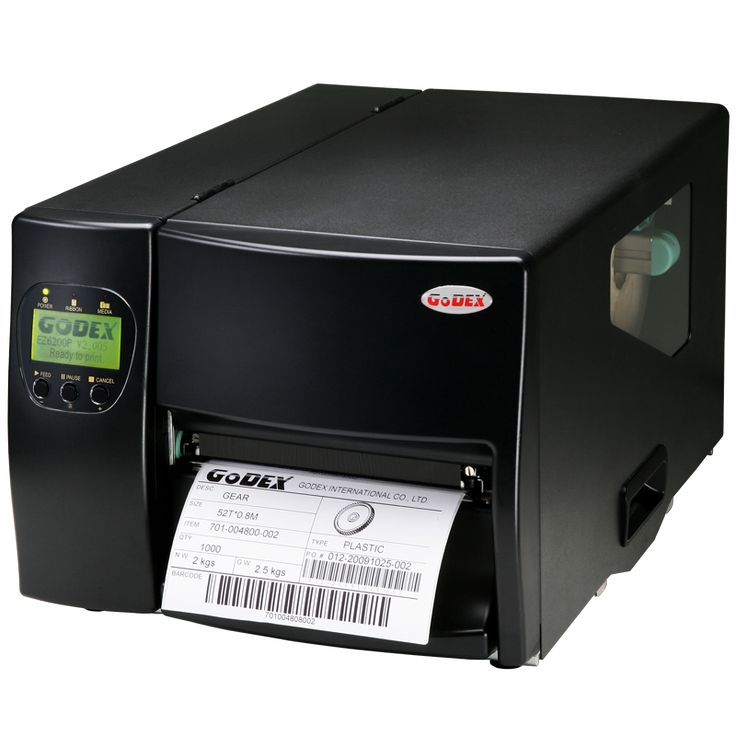 The EZ-6200 Plus is an industrial barcode printer  Print Modes: Thermal transfer and direct thermal  Print width: 6 inch wide label printer  Available for 200dpi and 300dpi resolution  Tool-less for print head replacement  Automatically detecting print head resolutions while change print head  Multifunction Panel with back-lit LCD display for easy user interface and operation  Modular concept for ease of maintenance  Ethernet interfaces, USB, Serial and Compact Flash socket as…