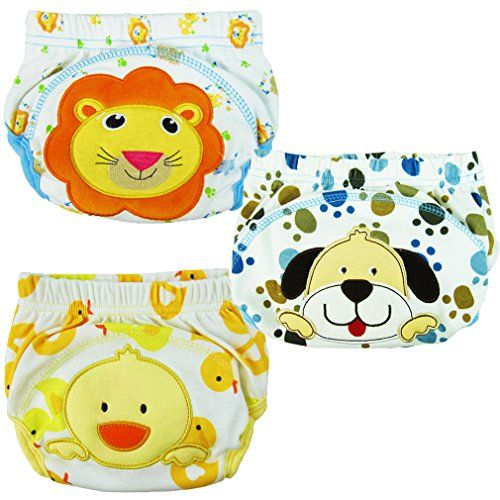Pack of 3pcs Smartlife Baby Toilet Potty Training Pants with 3 Layer for Infant Baby - http://bigboutique.tk/product/pack-of-3pcs-smartlife-baby-toilet-potty-training-pants-with-3-layer-for-infant-baby/