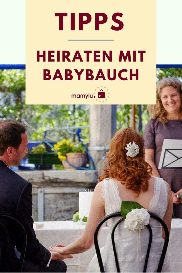 heiraten mit babybauch wie größere kinder liebevoll in