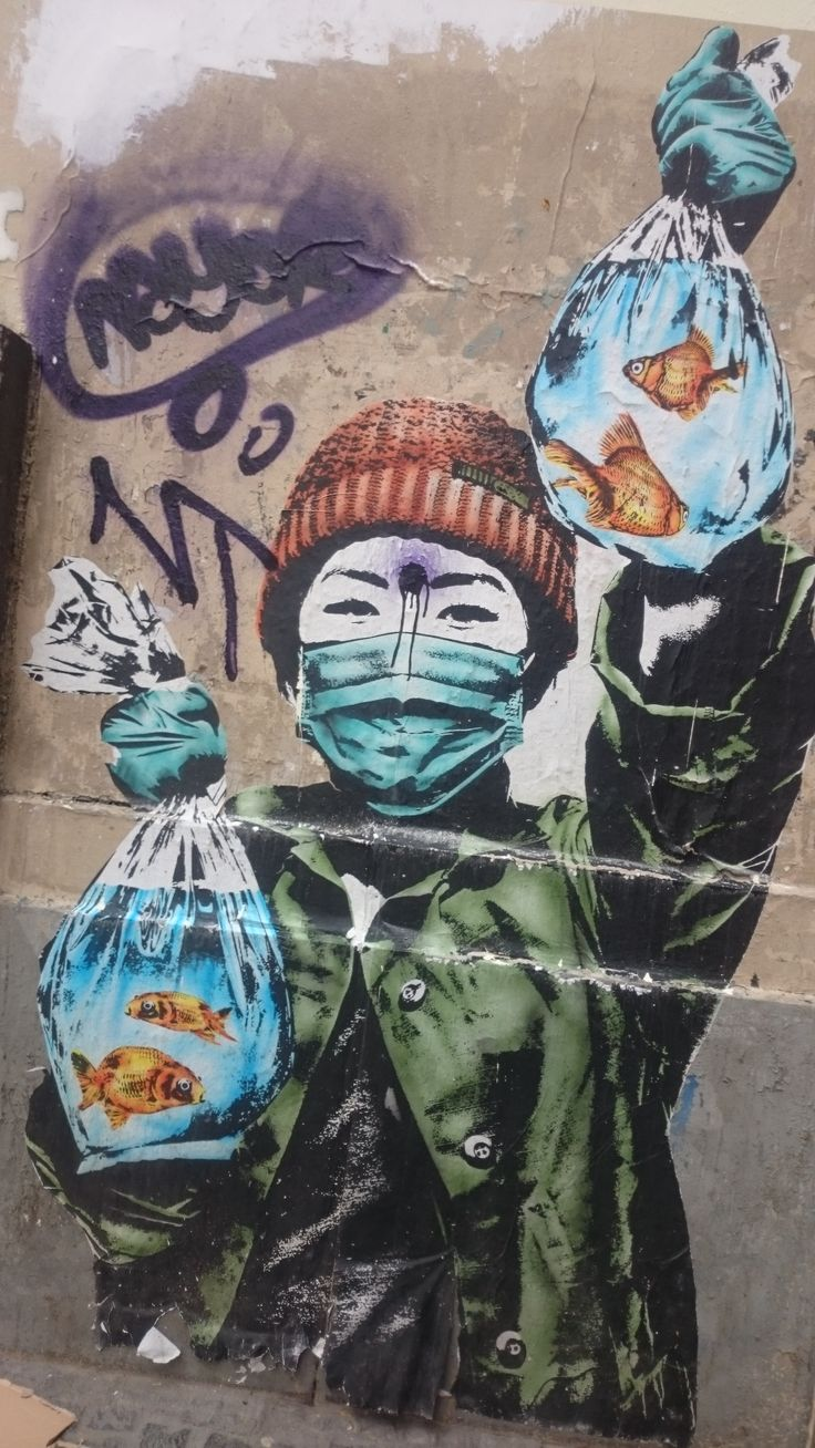Street Art, Paris Latin Quarter.