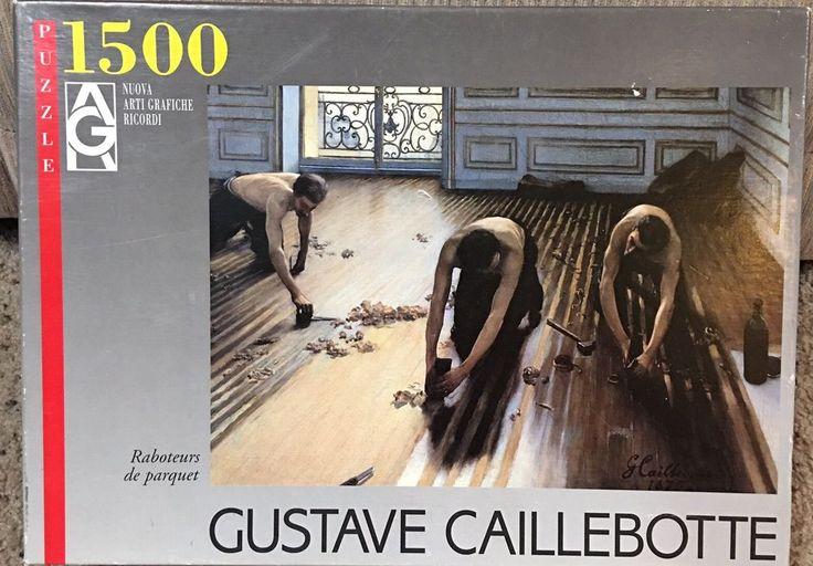 Ricordi 1500 Piece Interlocking Jigsaw Puzzle Gustavo Caillebotte The Wood Plane  | eBay