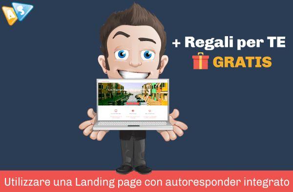 Landing page con autoresponder integrato è la nuova soluzione che cambierà radicalmente le sorti della tua azienda completamente GRATIS!