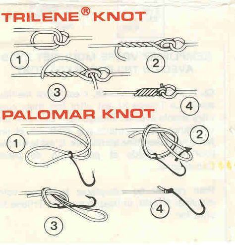 tying a fishing knot   How to Tie a Fishing Line Knot