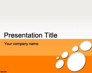 This is a free compatible orange Microsoft Office PowerPoint Template for presentations requiring a modern touch and nice background #powerpoint #orange #background #ppt