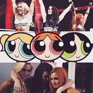 PPG and WWE Divas