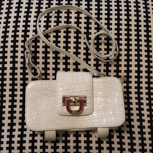 Dkny Patent Croco Crossbody Bag 116