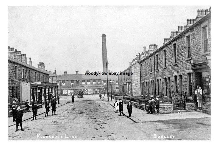 Rosegrove Lane , Burnley, Lancashire