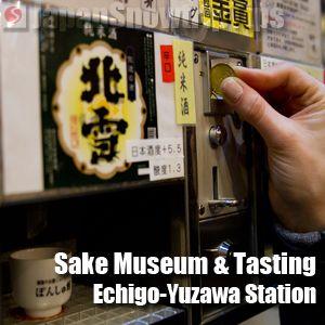 Sake Museum & Tasting Echigo-Yuzawa Station, Niigata, Japan