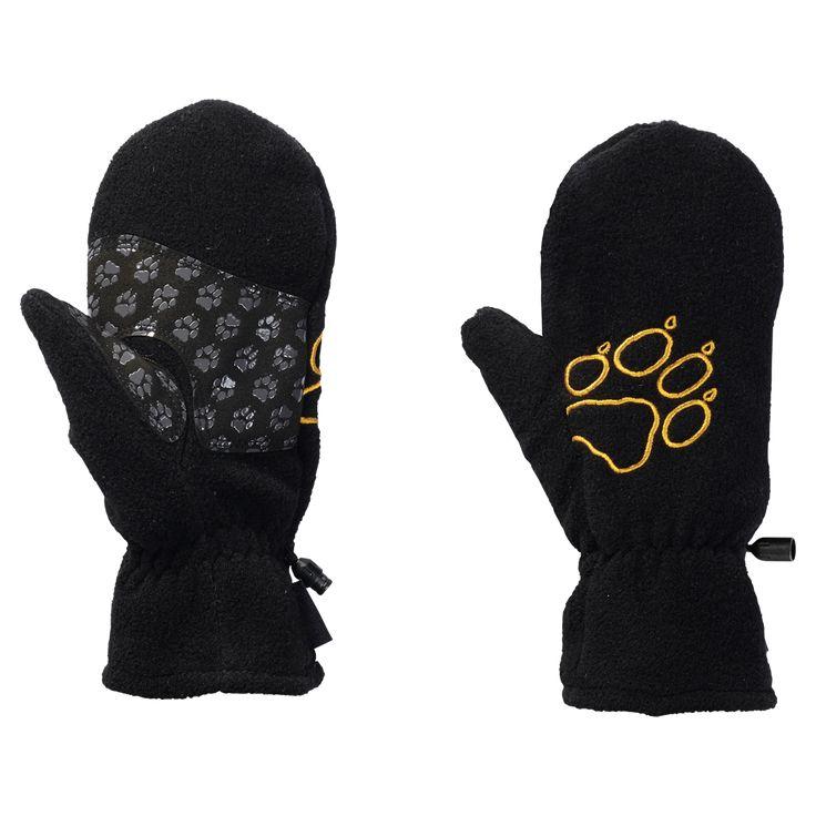 Jack Wolfskin FLEECE MITTEN KIDS Gloves kids ✓ Warm fleece mittens with anti-slip grip patches on the palms ✓ Jack Wolfskin