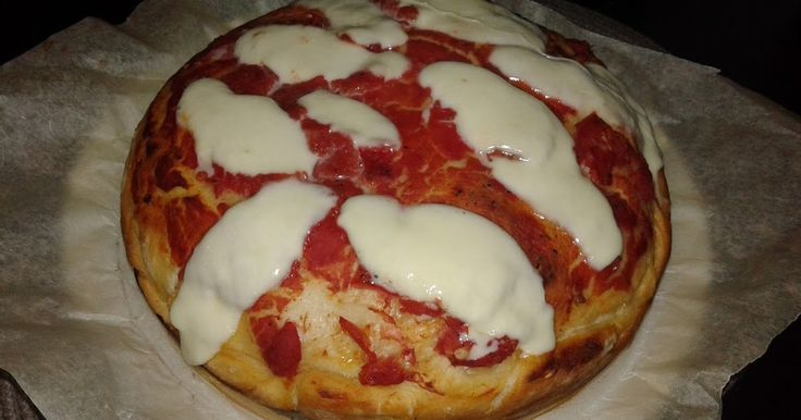 Busy mum's notes: #Stuffed #Italian double #pizza #recipe