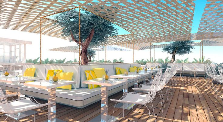 Flamingo Restaurant Terrace