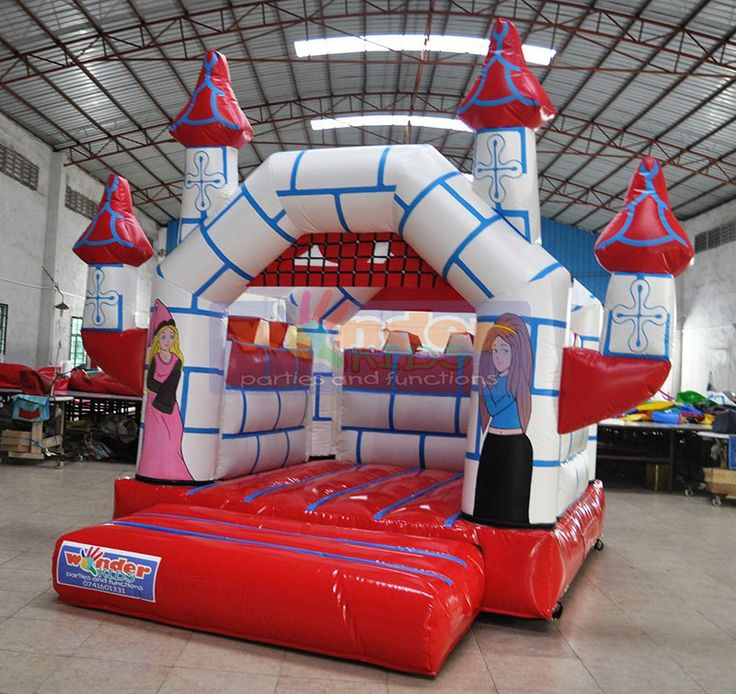 Red Princess Jumping Castle  http://www.wonder-parties.co.za/