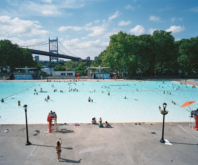 Angie Smith, Astoria Pool: Flak Photo, Photo Landscape, Flakphoto, Photographers Landscape, Contemporary Photography, Kids Astoria, 21St Century, Land Exhibitions, Astoria Pools