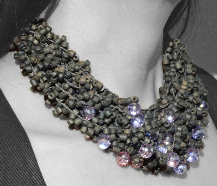 Mimic Cristals:  Let the glittering of this necklace take center stage and certainly lives up to the hype.
