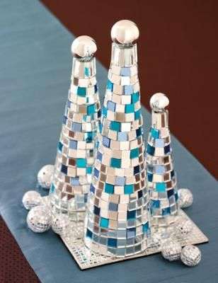 DIY::How to Make Mosaic Trees