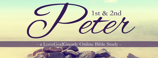 Quick and easy study of 1st & 2nd Peter in the Bible. Didn't take as many weeks as some of the others, but definitely as valuable. Bible Study: 1st & 2nd Peter
