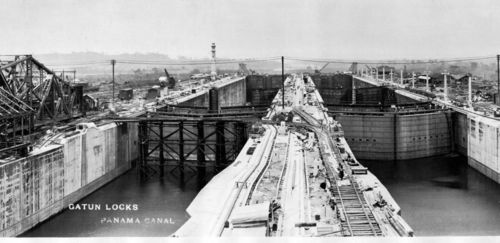 100 years ago today: The Panama Canal officially opened. On the blog, some intriguing artifacts from the Canal Zone.