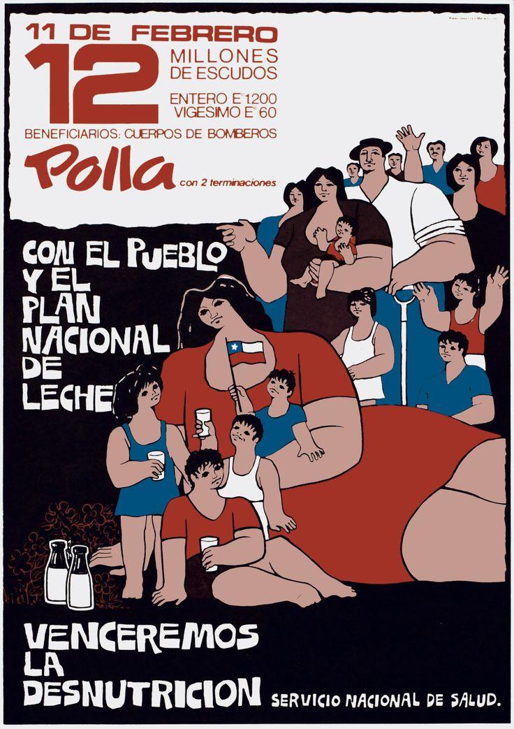 Con el pueblo y el plan nacional de leche venceremos la desnutrición (1973) - Waldo González y Mario Quiroz